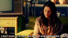 another cinderella story-selena gomez Another Cinderella Story, Cinderella Story Selena Gomez, Charlie Puth, Best Love Quotes, Romantic Love Quotes, Romantic Moments, Selena Gomez Tumblr, Katharine Isabelle, I Dont Fit In