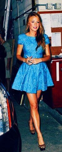 Blake Lively-cute dress