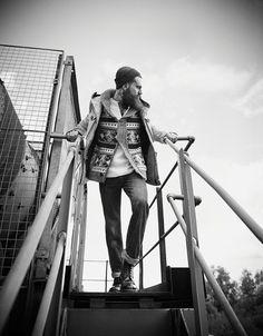 Ricki Hall Wears Utilitarian Fashions for Men's Health