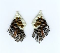 With the Artbeads Gilt-y Pleasure Designer Seed Bead Blend, Artbeader Susan made these fabulous horse earrings. We love the fringe detail! What Artbeads.com product will you use in your designs?