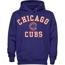Stitches Chicago Cubs Royal Blue Fastball Fleece Pullover Hoodie
