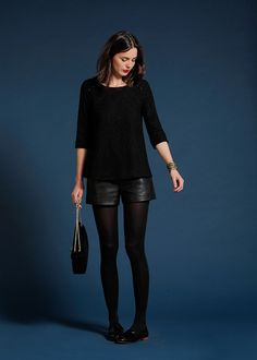 Sézane / Morgane Sézalory - Figari blouse #sezane #figari Plus