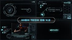 High Tech OS V.2  • After Effects Template • See it in action ➝…