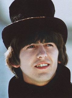 Find images and videos about the beatles, george harrison and help! George Harrison, Olivia Harrison, Carrie, Liverpool, John Lennon Beatles, Beatles Art, Beatles Photos, Lonely Heart, The Fab Four