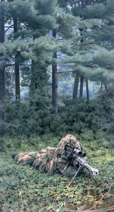 50 Cal. Sniper, GI Joe illustration by Larry Selman