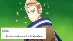 Hetalia: As described by popular text posts APH Netherlands Text Posts