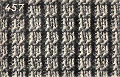 AnnyMay Le Blog: Point facile au tricot: le point gaufrette