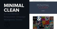 Review Minimal Clean - A Cool Onepage Wordpress ThemeThis site is will advise you where to buy