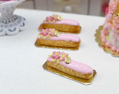 Mango Tartlet Miniature French Pastry in 12th by ParisMiniatures
