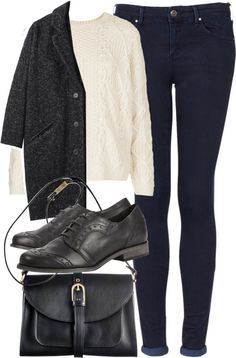 Untitled #4439 by florencia95 featuring blue jeans