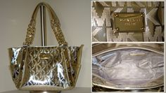 fashion Jet Set Monogram Zip Top Tote Grey*looks expensive and classy*but cheap!!