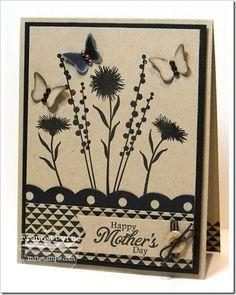 Peaceful Wildflowers; Sweet Roses; Border It - Mod Borders; Dotted Scallop Border Trio Die-namics; Fishtail Flags STAX Die-namics; Butterflies Die-namics - Frances Byrne