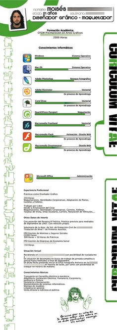 30 Amazingly Creative Examples of Designer Resumes - bar resume examples