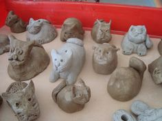 Once upon an Art Room: Clay - Project 1 - Pinch Pot Animals
