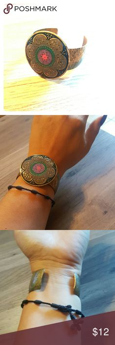 NEW Casual Bracelet Beautiful colors for this fall. Pair will boots and your ready to go. Size to fit design. Charlotte Russe Jewelry Bracelets