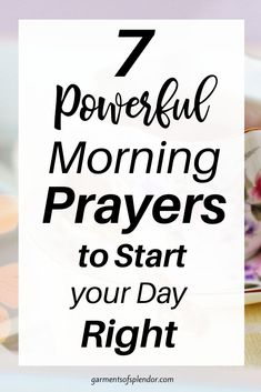 Praying Scripture back to God is a powerful way to start your day. Here are seven morning prayers to pray each day in the morning. Prayer For Wisdom, Prayer For Peace, Daily Prayer, My Prayer, Prayer Scriptures, Bible Prayers, Bible Verses, Catholic Prayers, Powerful Morning Prayer