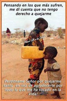 Dios mio ayudame a seguir trabajando para poder poner un pozo de agua en esta zona tan sufrida como es Africa.