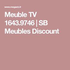 Meuble TV 1643.9746 | SB Meubles Discount