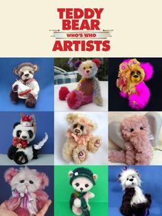 Teddy Bear Artists Who's Who App is available on the App Store, the Google Play Store and the Kindle Store.