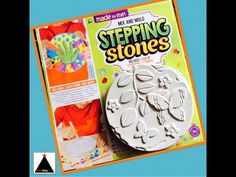 DIY Stepping Stones - Mix and Mold - SUPER FUN! - YouTube