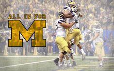 Michigan Wolverines Football, Dream School, Football Wallpaper, Sports Wallpapers, University Of Michigan, Celebrity Wallpapers, Laptop Wallpaper, Go Blue, Baseball Cards