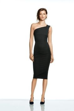 Not sure where I'd wear this but I like it. Maybe at grown-up parties with grown-ups?  Roland Mouret for Banana Republic