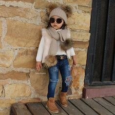 Clothes for 7 year olds kids wear girls dress new fashion style for girls 2 Girls Winter Outfits, Girls Winter Fashion, Cute Little Girls Outfits, Girls Fashion Clothes, Kids Outfits Girls, Toddler Girl Outfits, Little Girl Fashion, Toddler Fashion, Kids Fashion