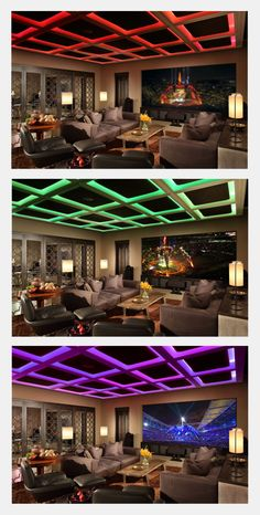 Home Theater. Landry Design Group, Inc. / High-End Custom Residential Architecture Los Angeles