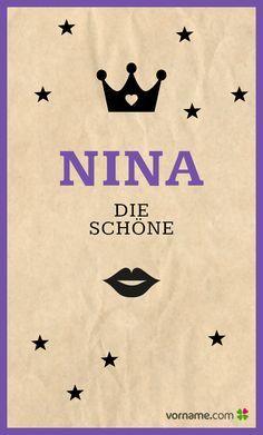 Wenn das keine schöne Bedeutung ist? Finde heraus, wo der beliebte Mädchenname herkommt, wann sein Namenstag ist und vieles mehr. Alle Infos zum Namen Nina auf Vorname.com entdecken!