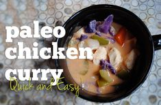 Recipe: Paleo Crock-Pot Chicken Curry