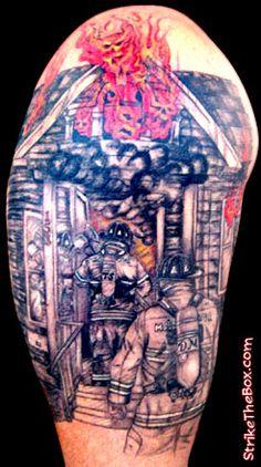 fireman tattoos   Humming Bird Tattoos: Firefighter Tattoo Quotes