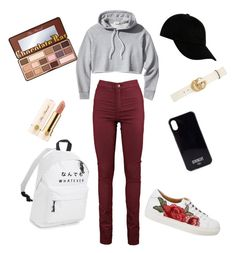 """""""Untitled #71"""" by giuliaabalanuta on Polyvore featuring Frame, STONE ISLAND, Gucci, Givenchy and Too Faced Cosmetics"""