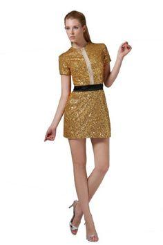 Honeystore Women's Corset Sequined Mini High Neck Cocktail Dresses Size US16/UK20/EUR46 Color Gold Honeystore,http://smile.amazon.com/dp/B00DOS8ZPW/ref=cm_sw_r_pi_dp_rQ3Usb1E1RACEBWF