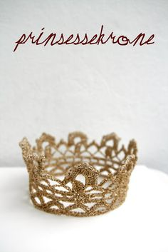 Hækling: prinsessekrone