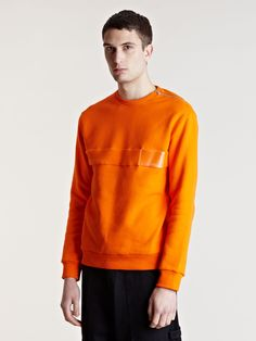 Gosha Rubchinskiy Mens Soft Panel Sweater
