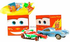 Disney Cars Favor Boxes - FREE Printable party favor boxes.