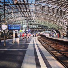 Deutsche Bahn visual identity Berlin Hbf