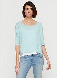Linen box top - Eileen Fisher