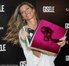 Bestseller: Gisele looked absolutely delighted to be at the launch, and for good reason, for the book sold out a day before it even hit shelves, according to the publisher's website