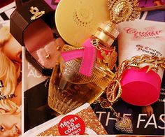 creme fashion images, image search, & inspiration to browse every day. Fashion Images, Smell Good, Girly Things, Girly Stuff, We Heart It, Perfume Bottles, Cosmetics, Day, Juicy Couture