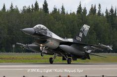 RECOVERY: RED FLAG-ALASKA General Dynamics F-16C Viper USAF 86-0270 18th Aggressor Squadron (AGRS) Arctic Camo