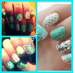 Tiffany  nail design. .by me