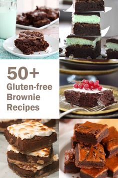 50+ Gluten-Free Brownie Recipes