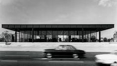 Mies van der Rohe | New National Gallery | Berlin | 1962-1968