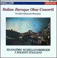 Tomaso Albinoni - Concerto à cinque B-Dur op. 9/11 für Oboe, Streicher und Continuo