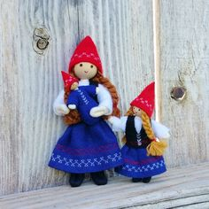 This adorable kindness elf is looking for a new home this holiday season. Dressed in a Scandinavian inspired blue skirt and black vest, her outfit is complete with a adorable red hat. This little lady                                                                                                                                                                                 More