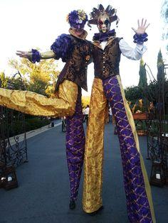 Stilt costume