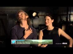 Sam Heughan and Caitriona Balfe read some Outlander tweets - YouTube