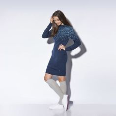 adidas Nordic Knit Jurk | adidas Nederland