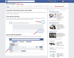 Facebook permitirá guardar posts